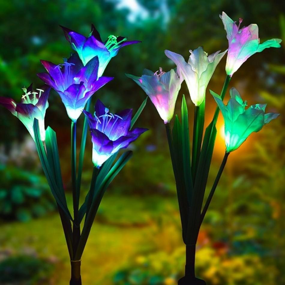 fleur-artificielle led
