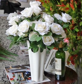 roses-blanches-artificielles