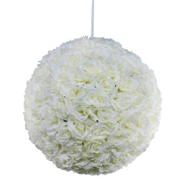 boule-rose-artificielle-blanche-43cm
