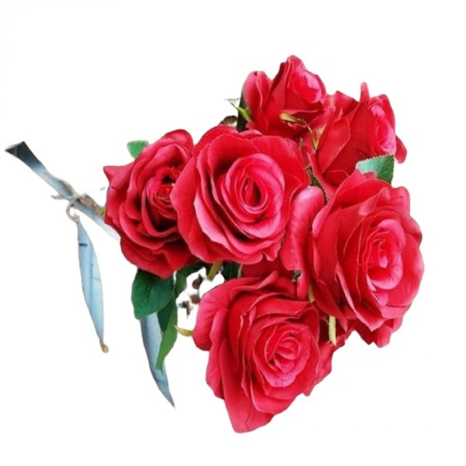 bouquet-de-rose-rouge-artificielle-2