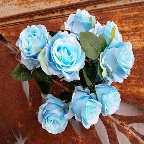 bouquet-fleur-artificielle-bleu