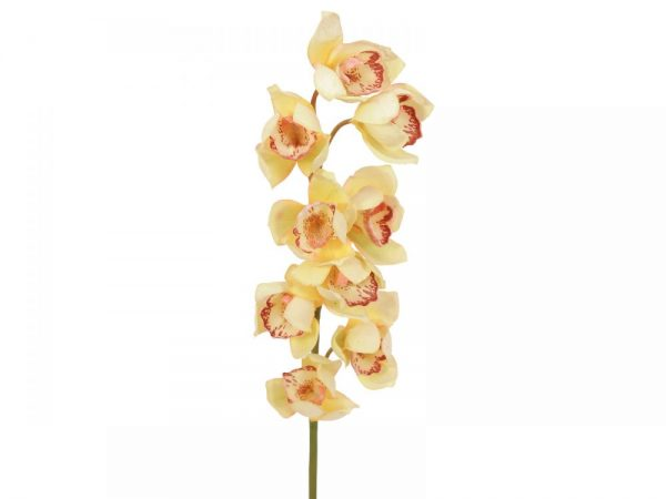 branche orchidee artificielle jaune