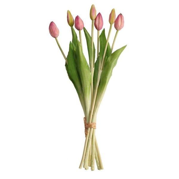 bouquet-artificielle-mauve-clair