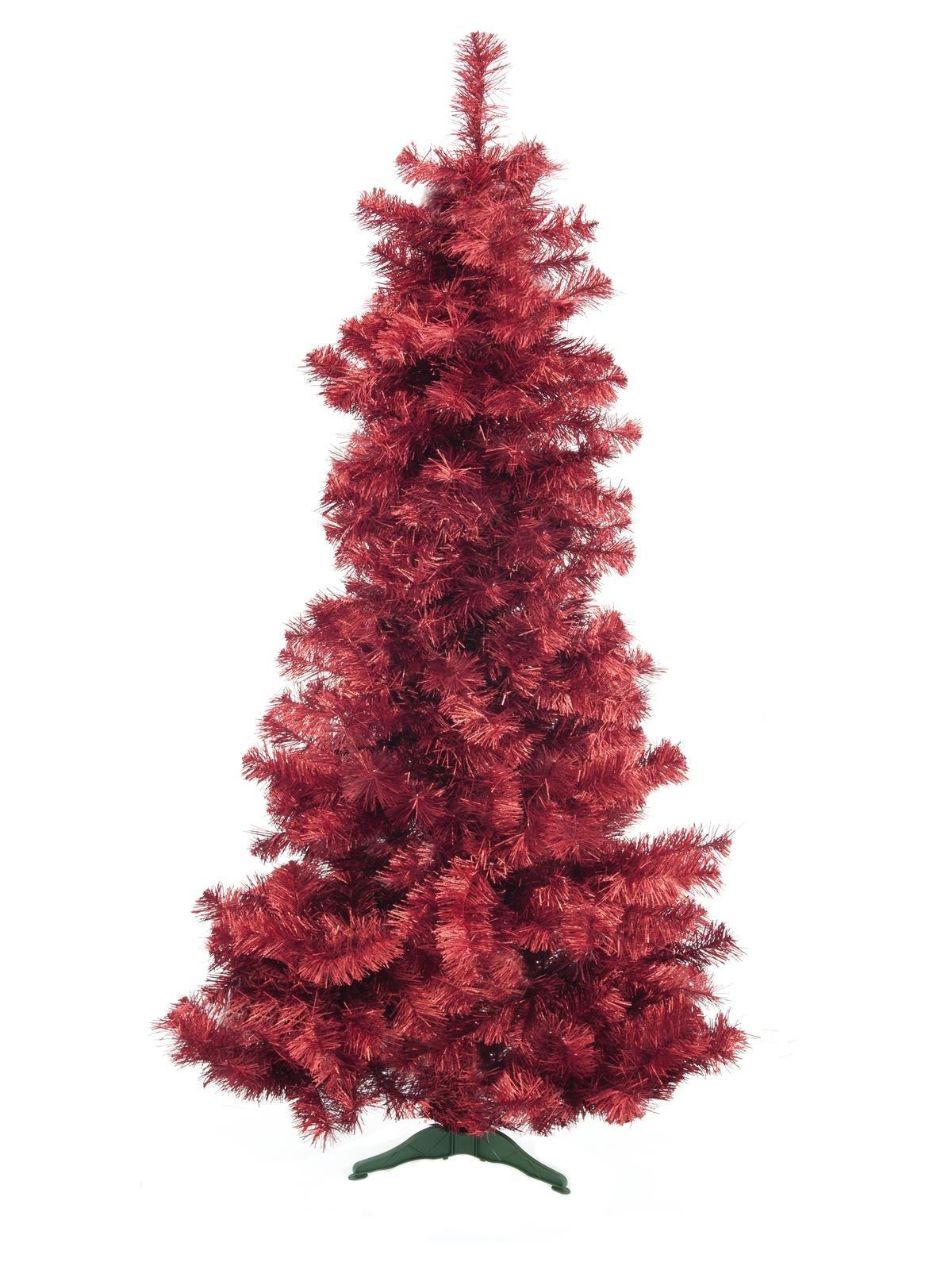 sapin-artificiel-rouge-210cm