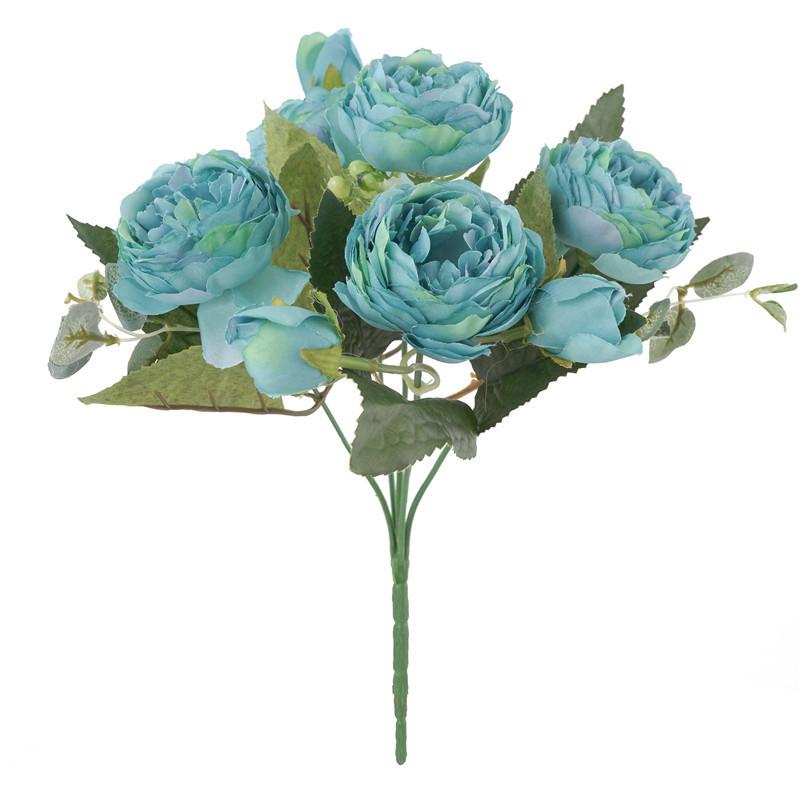 pivoines-artificielles-bleu