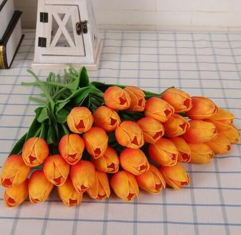 tulipes-orange-artificielles
