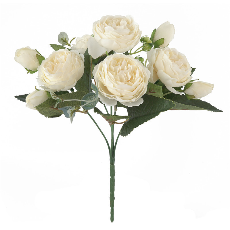 bouquet-pivoines-artificielles-creme