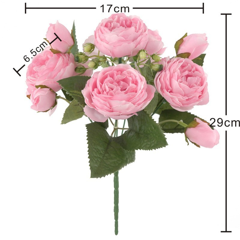 bouquet-pivoines-artificielles-rose
